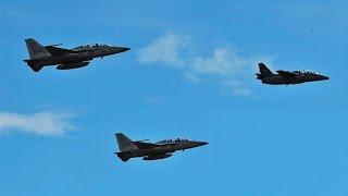 getlinkyoutube.com-KAI FA-50 Golden Eagle Drops 500lbs JDAM