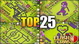 Clash of Clans - Top 25 SEXUAL/Funny/Troll CoC Comedy Base Design Compilation!