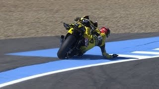 getlinkyoutube.com-Jerez 2015 – Biggest crashes