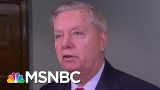 Hypocrisy: Watch Graham Own Himself While Pandering To Trump | The Beat With Ari Melber | MSNBC width=