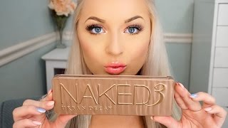 getlinkyoutube.com-Urban Decay Naked 3 Palette | Natural Glam Tutorial