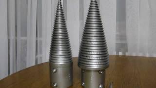 getlinkyoutube.com-Конус для винтового колуна, полностю готовый к работе (cone for wood splitter)