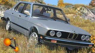 getlinkyoutube.com-BeamNG.Drive Mod : BMW 535is (Crash test)