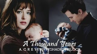 getlinkyoutube.com-Fifty Shades Trilogy | Christian and Ana - A Thousand Years