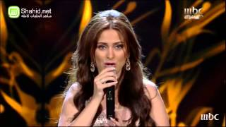 getlinkyoutube.com-Arab Idol - Someone Like You - النتائج - فرح يوسف