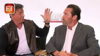 getlinkyoutube.com-Sylvester Stallone & Arnold Schwarzenegger - Escape Plan