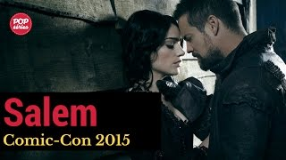 SDCC 2015: Janet Montgomery e Shane West de Salem