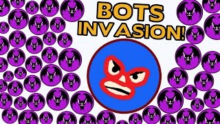 getlinkyoutube.com-FASTEST 30.000 MASS EVER IN AGAR.IO?! - BOTS INVASION
