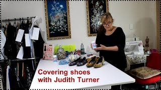 getlinkyoutube.com-How to cover shoes with fabric
