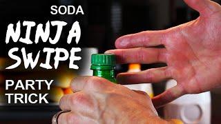 "getlinkyoutube.com-Soda Bottle Blaster! - ""Soda Ninja Swipe"""