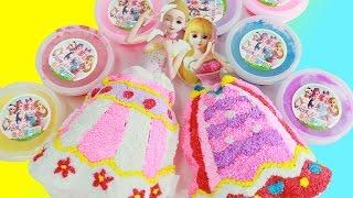getlinkyoutube.com-Secret Jouju Clay Toys 시크릿쥬쥬 풍선 클레이 장난감 쥬쥬 와 릴리 인형 드레스 만들기