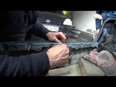 Замена замка багажника NISSAN sanny 2003 гв. Trunk lock replacement!
