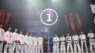 getlinkyoutube.com-Chen Tai Chi vs. Karate combat 1/4---CCTV5 Wu Lin Da Hui(20120221)