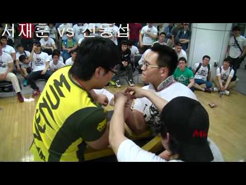 MLA KOREA arm-wrestling competition