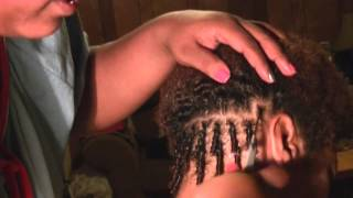getlinkyoutube.com-Quick How To: Comb Twists (Requested)