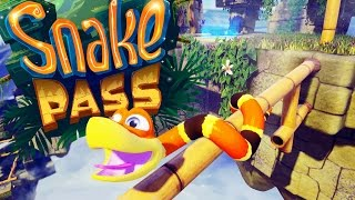Snake Pass - Slithering Our Way To Success! - Snake 3D Platformer - Let's Play Snake Pass Part 1