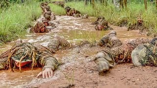 Army Sniper School – Rifle Familiarization/Ghillie Suit Camouflage/Stalking width=