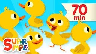 getlinkyoutube.com-Five Little Ducks + More | Children's Songs and Nursery Rhymes | Super Simple Songs