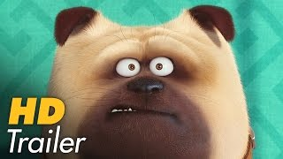 PETS Teaser Trailer German Deutsch (2016)