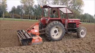 getlinkyoutube.com-Soil preparation and sowing ryegrass-Preparazione terreno e semina loietto
