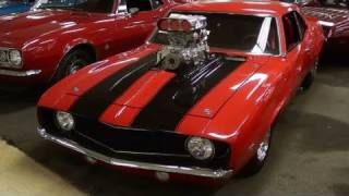 getlinkyoutube.com-Supercharged 1969 Camaro Pro Street Muscle Car
