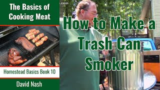 getlinkyoutube.com-How To Make a Trash Can Cold Smoker