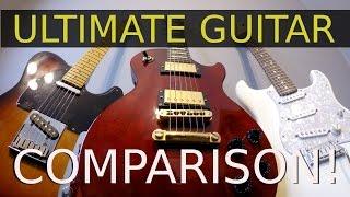 getlinkyoutube.com-Strat, Tele or Les Paul - Ultimate Guitar Comparison!