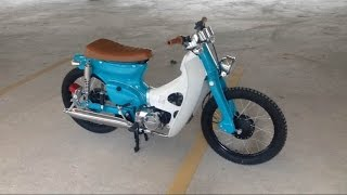 getlinkyoutube.com-Honda C70 Super Cub Custom