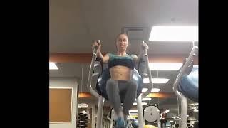 getlinkyoutube.com-ABS: Female Fitness Inspiration Eleonora Dobrinina Making it Easier