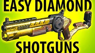 getlinkyoutube.com-BLACK OPS 3 EASY DIAMOND CAMO SHOTGUNS @ItsMikeyGaming