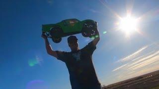 getlinkyoutube.com-RC ADVENTURES - RACiNG & BASHiNG 1/5th Scale RC TRUCKS - Losi 5T, Baja 5SC, Baja 5T & MORE!
