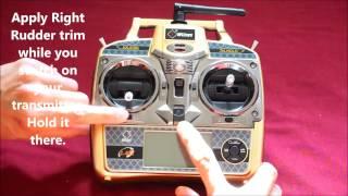 getlinkyoutube.com-Transmitter Calibration for WLtoys V977 Power Star X1 & V931 A350 Scale Helicopter