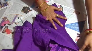 getlinkyoutube.com-How to Blouse Cross Cutting for beginners Step by Step
