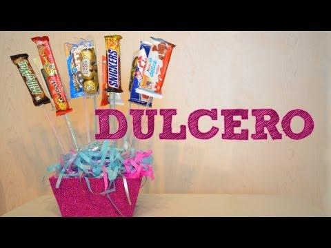 DULCERO PARA REGALAR | Ideas de regalo para el DÍA DE LAS MADRES 10 DE MAYO | manualidades