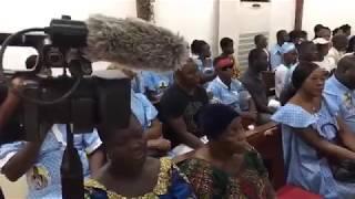 Hommage à Dezy Champion: l'émouvante levée de corps à IVOSEP