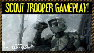 Scout Trooper Gameplay (Star Wars Battlefront) Character Spotlight