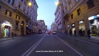 ►Italy 267 (Camera on board): Rome and Vaticano by night (GoPro Hero3 1080p25)