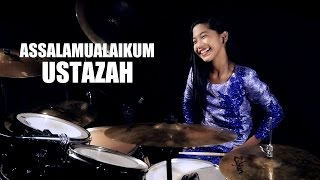 getlinkyoutube.com-Khalifah - Assalamualaikum Ustazah - Drum Cover by Nur Amira Syahira
