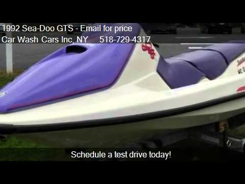 1992 Sea-Doo GTS 3 SEATER for sale in Glenmont, NY 12077 at