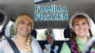 getlinkyoutube.com-Família Frozen dubla Não Dá