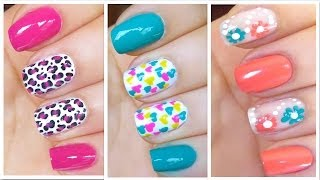 getlinkyoutube.com-3 Cute Nail Art Designs for Spring/Summer - #2