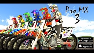 getlinkyoutube.com-Pro MX 3 - Motocross Racing Game on Android and iOS