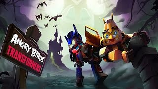 getlinkyoutube.com-Angry Birds Transformers - NEMESIS PRIME Unlocked Halloween Update