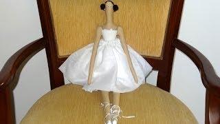 Boneca Tilda Bailarina - Maria Adna Ateliê - Cursos e aulas de bonecas inclusive Tildas