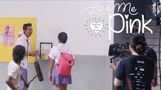 Behind The Scene - Pucelle Indonesia: Love Me, Pink