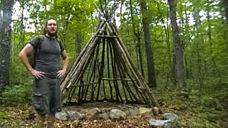 getlinkyoutube.com-Building a Long Term Survival Shelter - Part 1 (Wiki)