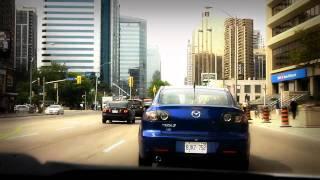getlinkyoutube.com-(HD)Afternoon drive in Toronto (North York district)