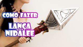 Tutorial Cosplay - Lança Nidalee - League Of Legends - DIY