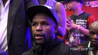 getlinkyoutube.com-Floyd Mayweather on fighting Ronda Rousey