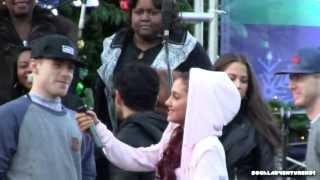 getlinkyoutube.com-Ariana Grande Having fun with Fans - Cute Ariana Grande - Meet and Greet with Ariana Grande